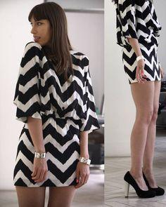 Lovely Chevron Dress