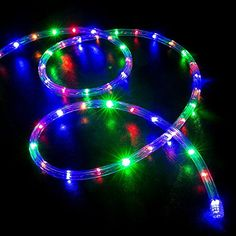 Color Changing Rope Lights Extraordinary 100 Ft Rgb Color Changing 4Wire 110V120V Led Rope Lighthttps Design Ideas