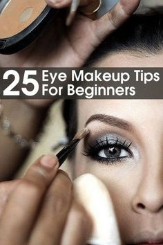 Here are 25 tips and tricks that you should know and always follow while applying your eye makeup. These tips will help you to prevent doing the mistakes that beginners might do.