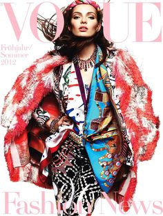 Vogue Germany - Vogue Germany January 2012 Supplement Cover