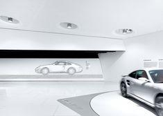 Porsche Museum / Delugan Meissl, photos by Michael Schnell