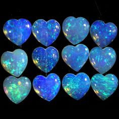 Apple Cider Benefits, Opal Auctions, Cute Jewelry, Geology, Heart Shapes, Minerals, Rocks, Hearts, Bling