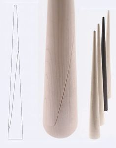 This shoehorn by Japanese designer Oki Sato of Nendo, created for wooden furniture manufacturer Maruni, looks mysterious and sculpturesque. It is uncl. Bamboo Decoration, Shoe Horn, Furniture Manufacturers, Wood Work, Wooden Furniture, Food Design, Product Design, Horns, Wood Projects