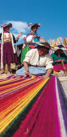 Colorful Peru • photo: SITA World Tours on Flickr This world is really awesome. The woman who make our chocolate think you're awesome, too. Please consider ordering some Peruvian Chocolate http://www.amazon.com/gp/product/B00725K254