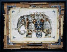 Russian Artist - Beautiful pieces which feature clockwork animals. владимир гвоздев & gvozdariki