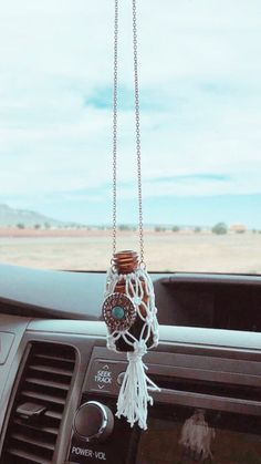 Mini Macrame Hanging Car Diffuser Etsy Best Picture For Jeeps offroad For Your Taste You are looking for something, and it is going to tell you exactl Etsy Macrame, Macrame Cord, Micro Macrame, Diy Projects To Make And Sell, Easy Diy Projects, Mini Car, Mini Mini, Cute Car Accessories, Car Freshener