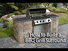 How To Build A Grilling Island For The Home Backyard