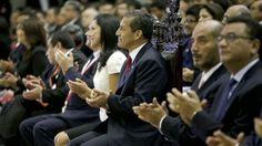 Ollanta Humala participó por primera vez en Acción de Gracias