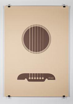 Music Genres Poster Series
