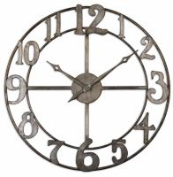 Delevan Uttermost  Clocks and more home accessories by Uttermost are carried by Sacksteder's Interior's for all your decor and interior design needs!