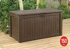Something like this built into deck - could use bead board for sides - could paint any color like - add cushion to top for sitting.  Possibly have up against wall of home for back support.