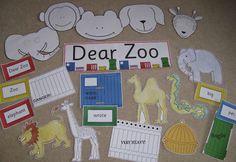 Dear Zoo - teacher resource - story sack CD