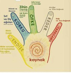 Hangi duygunuzda bir sorun hissediyorsanız bu duygu ile ilgili parmağınızı diğer elinizin içine alıp baskı uygulayınız