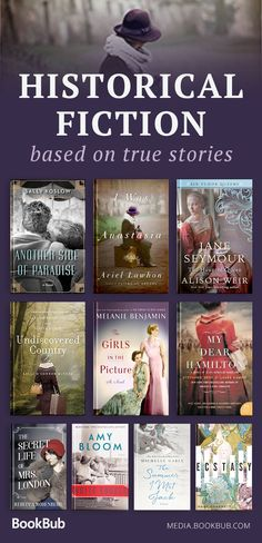 Great historical fiction books based on true stories, including books about and for women, WW2 history books, and more.