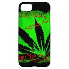 Mother Nature Heals All iPhone 5C Covers