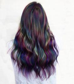 Hair Dye Colors, Hair Color Blue, Blue Hair, Gorgeous Hair Color, Cool Hair Color, Pretty Hairstyles, Braided Hairstyles, Hair Again, Coloured Hair