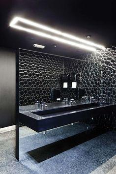 Dinner Club Bathroom | Corian