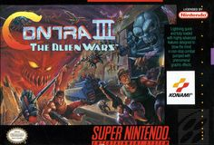 Contra 3 - I use to play the shit out of this back in the day, wish I could find a decent priced copy now..