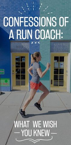Confessions of a Running Coach - click for some hilarious running