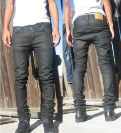 Nudie Jeans Co Thin Finn Dry Black Coated. I need a new denim project...