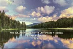 John Muir, Wilderness, Postcards, Universe, Cosmos, Space, The Universe, Greeting Card