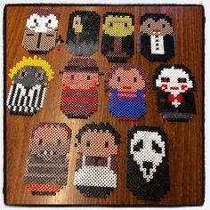 Evil/ Horror characters hama beads by dorro85