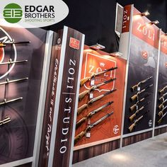 Edgar Brothers is one of the oldest most well established importers and wholesalers of sporting goods in the UK. This was just 1 of 3 of their stands at The Great British Shooting Show 2016. New dates have been announced for 2017's show visit the website for more information shootingshow.co.uk #Edgar #Brothers #UK #Zoli #Shotguns #Firearms #Wholesale #Distribute #Shooting #ShootingSports #Products #Brands #BritishShootingShow #ShootingShow #BSS