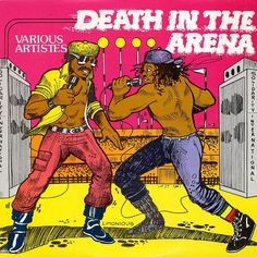 Death in the Arena with artwork by Wilfred Limonious