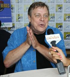 Luke Skywalker at 60 - Mark Hamill appearing at Comic-Con in San Diego 2012, geez, it almost takes away from the luke i know in the movies.....
