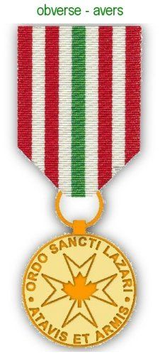 3675bba25d3 Obverse of Canadian Medal | Saint Lazarus Heraldry | Olympic medals,  Olympics, Military