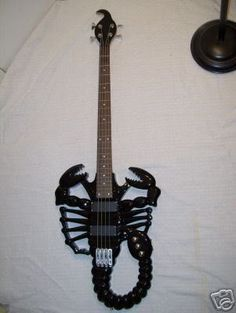 Scorpion Bass. Wonder if that makes it harder to play? For in depth info on Scorpio personality and characteristics go to http://www.examiner.com/article/the-scorpio-sign-scorpio-traits-personality-and-characteristics