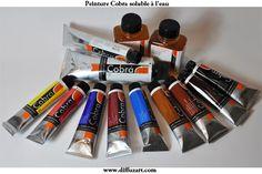 peinture soluble à l'eau de marque Cobra www.difuzart.com