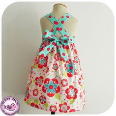 Spring dress - perfect flower girl dress - 12 months to 8 years - PDF Pattern and Instructions FREE Shipping. $6.90, via Etsy.