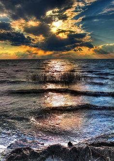 Outer Banks - Radical Sunset on Pamlico