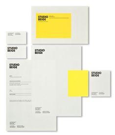 Studio Beige - Visual Identity The Effective Pictures We Offer You About Logo Design food A quality Design Brochure, Letterhead Design, Design Logo, Web Design, Brand Identity Design, Graphic Design Branding, Design Packaging, Label Design, Layout Design