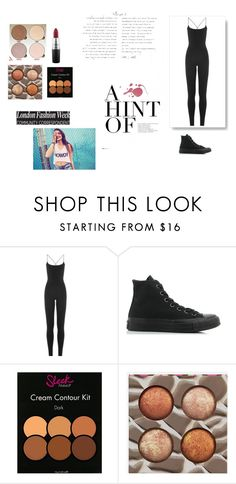 """""""Untitled #311"""" by xxhannahhalexx on Polyvore featuring Valentino, Converse, BHCosmetics, MAC Cosmetics and Wildfox"""
