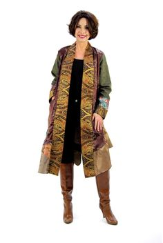 Adare's Boutique - Harvest Duster  By Lee Andersen, $399.00 (http://adaresboutique.com/harvest-duster-by-lee-andersen/)