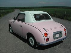 Pink Nissan Figaro