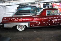 Psychoactivelectricity   1957 Cadillac flower car