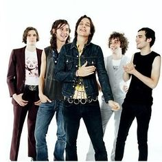 Love #thestrokes and this is a great pic
