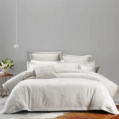 Mercer + Reid Fleur Bedlinen - Bedroom Quilt Covers & Coverlets - Adairs online