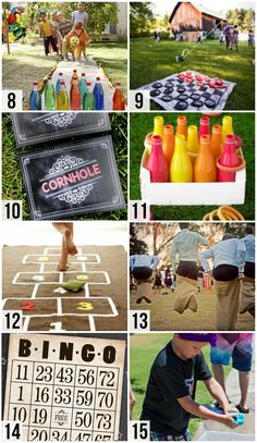 The BEST list of games the whole family will love - perfect for a kid's birthday party or family reunion!