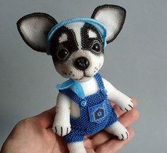 Замечательные авторские игрушки из бисера Волховской Ульяны. Тебе тоже не верится, что из бисера могут получится такие потрясающие изделия?
