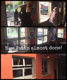 Stop by and see the Windows!  Patio almost done! #New #Patio #Construction #BeachCityBuilders #SenorGrubbys #California #Carlsbad #SanDiego #SD #CarlsbadCA #CarlsbadVillage #Cbad #Oceanside #Vista #Encinitas #MexicanFood #Tacos #Beer #RollupWindows #RollupDoor #RollupWindow #Window #Vacation #Travel #LiveLifeSpicy by senorgrubbys