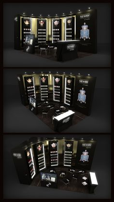NEWBY Exhibition Stand on Behance