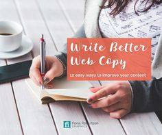 Struggling to write the content of your website? It doesn't have to be so hard. Grab your free Write Better Copy guide and find out the 12 easy ways to improve your content and make your site rock.