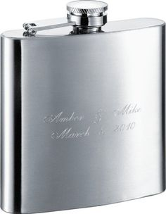Visol The Debonaire Classic 6oz Stainless Steel Hip Flask by Visol. $14.99