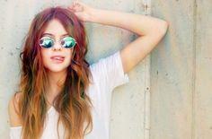 fashion, girl, hippie, long hair, pretty, shades