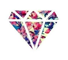 flower diamond | Tumblr