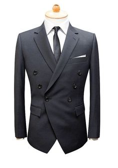 Classy Clothes, Classy Outfits, Double Breasted Suit, Slim Fit, New Fashion  Trends ae9d163811
